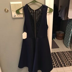 brand new altr'd state navy dress